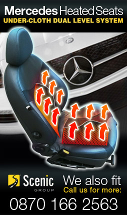 Mercedes Heated Seats Carbon Fibre Under-Cloth Dual Level System